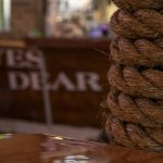 boat ropes in a bar