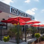 Dry Dock 28 outdoor dining tables